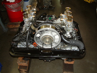 Highly modified project 911 engine