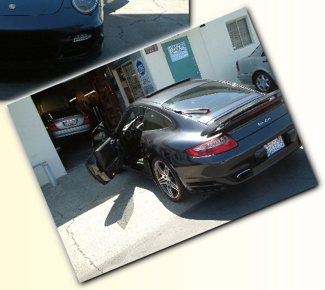 CJ's 2007 Porsche 911 Twin Turbo.